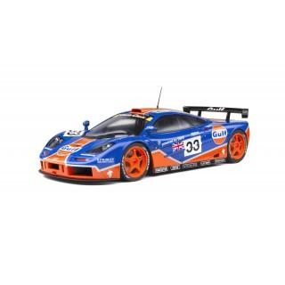 McLaren F1 GTR Gulf Racing 9th 24h LeMans 1996 J.J. Lehto - James Weaver - Ray Bellm 1:18
