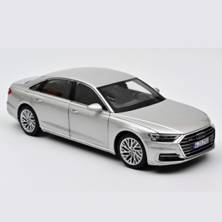 Audi A8 L 2018 Silver 1:18