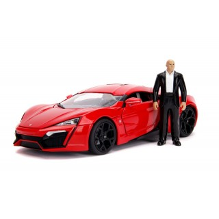 """Lykan Hyper Sport  """"Fast And Furious 7"""" with figure 1:18"""
