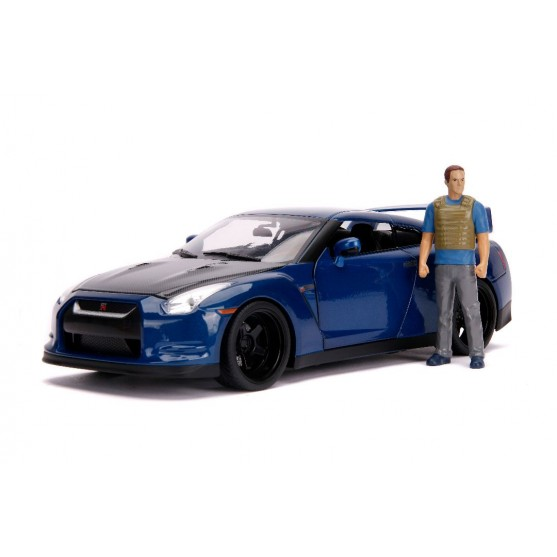 Nissan GT-R (R35) 2009 Fast & Furious 7 (2015) With figure 1:18