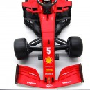 Ferrari F1 2020 SF1000 Austrian Gp Pirelli hard White Sebastian Vettel 1:18
