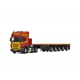 Scania R6 Topline 6X4 Ballast Trailer 5 assi 1:50