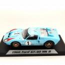 Ford GT40 MKI Shelby American Inc. 1966 Ken Miles - Denny Hulme 24h LeMans 1:18