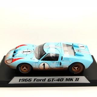 Ford GT40 MKI Shelby American Inc. 1966 Ken Miles - Denny Hulme 24h LeMans 1:18 Sporca