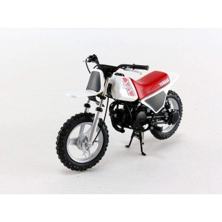 Yamaha PW 50 1981 Red - White 1:12