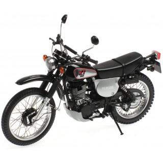 Yamaha Xt 500 Black 1988 1:12