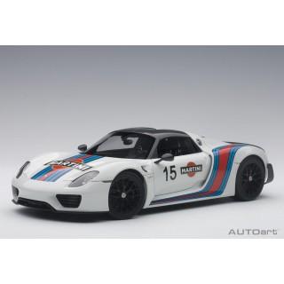Porsche 918 Spyder 2010 Martini Livery 1:18