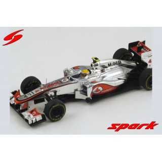 Mclaren Mercedes Vodafone MP4/27 F1 2012 4th Monaco Gp Lewis Hamilton 1:43