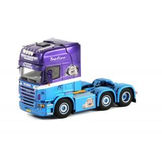 """Scania R5 Topline 6x2 Voorloop come """"Heros"""" (NL) 1:50"""