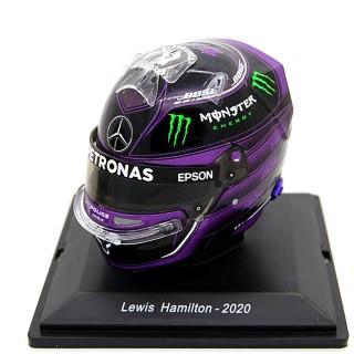 Lewis Hamilton Casco Bell Helmet F1 2020 Mercedes Amg Petronas 1:5