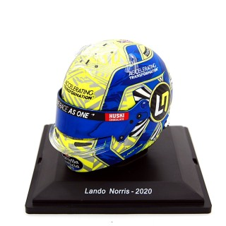 Land Norris Casco Bell Helmet F1 2020 Mclaren Renault 1:5