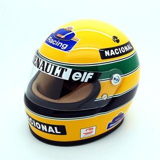 Ayrton Senna Bell Helmet Casco F1 1994 Team Williams Renault 1:2