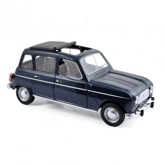 Renault 4 1965 Copenhague Blue 1:18