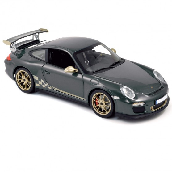 Porsche 911 GT3 RS 2010 Dark Grey 1:18