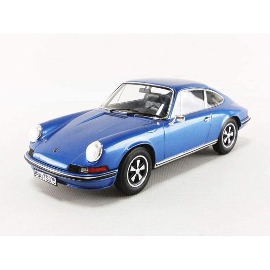 Porsche 911 S 1973 Coupe Blu 1:18