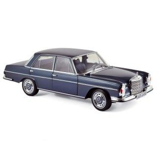 Mercedes-Benz 280 SE 1968 Dark Blue Metallic 1:18