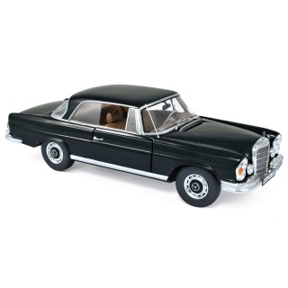 Mercedes-Benz 280 SE Coupe 1969 Black 1:18