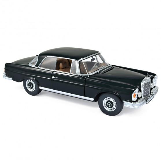 Mercedes-Benz 280 SE Coupe 1969 Black 1:18