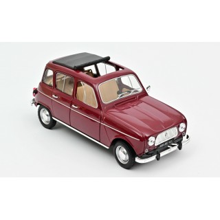 Renault 4 1966 Dark Red 1:18