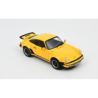Porsche 911 turbo 3.0 1976  Yellow 1:18