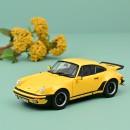 Porsche 911 turbo 3.0 1976  Yellow 1:18