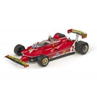 Ferrari 312 T5 1980 Gilles Villeneuve 1:18