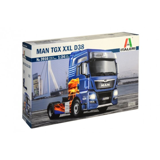 Man Tgx Xxl D38 Kit 1:24