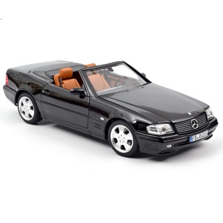 Mercedes-Benz SL 500 Roadster 1999 Black 1:18