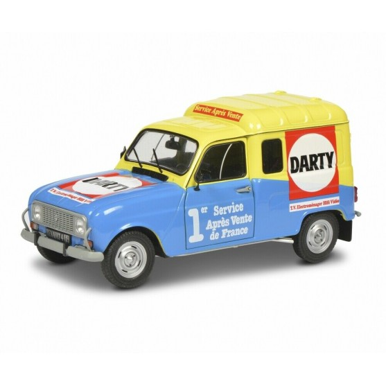"""Renault 4 F4 1988 """"Darty """" 1:18"""