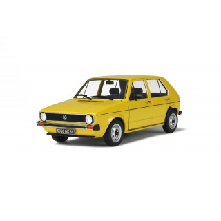 Volkswagen Golf L 1983 Yellow Rihad 1:18