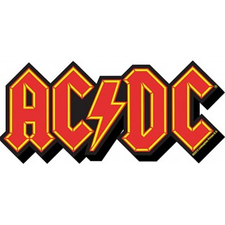 AC DC Logo Magnete