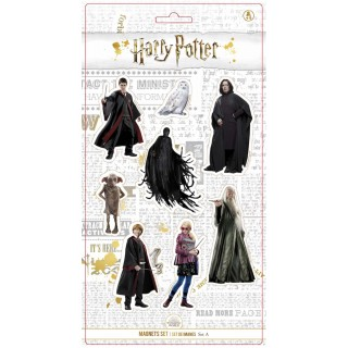 Harry Potter Real Caracters Magneti Set A