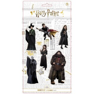 Harry Potter Real Caracters Magneti Set B