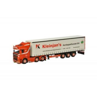 "Scania Streamline Higline 6X2 con Semirimorchio Tautliner Telonato 3 assi ""Kleinjan's Aardappelhandel BV"" (NL) 1:50"