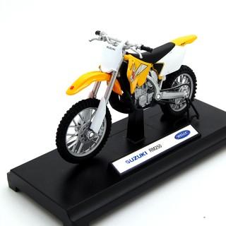 Suzuki RM 250 Yellow 1:18