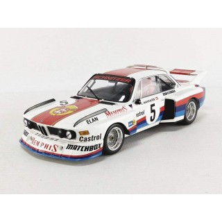 BMW 3.5 CSL 5 Sepp Manhalter Winner Havirov International 1977 white/red 1:18