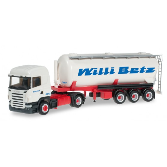 "Scania R HL silo trailer ""Willi Betz"" 1:87"
