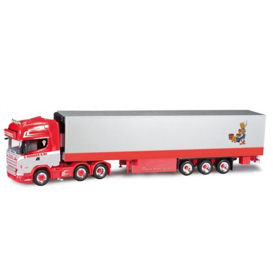 "Scania R TL semirimorchio frigo ""Verbeek"" (NL) 1:87"