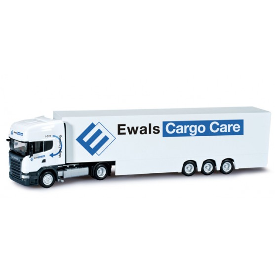 "Scania R TL semirimorchio ""Ewals Cargo Care"" (NL) 1:87"