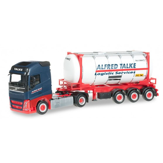 "Volvo FH Gl. semirimorchio portacontainers ""Alfred Talke"" Logistic services 1:87"