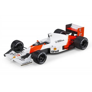 McLaren Honda MP4/5B F1 1990 World Champion Ayrton Senna 1:18
