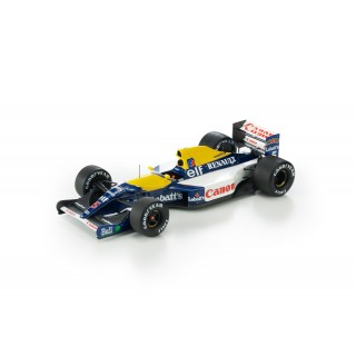 Williams Renault FW14 F1 1992 Nigel Mansell 1:18