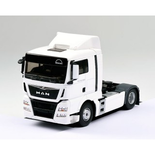 Man TGX Euro 6 LX cabina bassa bianco 1:43
