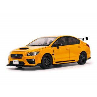 SUBARU S207 NBR Challenge Package yellow  2015 1:18