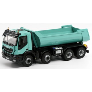 Iveco Trakker Hi-Land euro 6 benne with tipper 2014 1:43