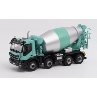 Iveco Trakker Hi-Land euro 6 toupie with mixer 2014 1:43