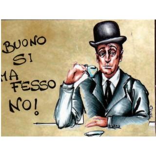 """Magnete Frasi Celebri Napoletane """"Murales ...."""""""