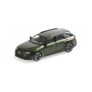 Audi RS4 Avant 2018 Green Metallic 1:87