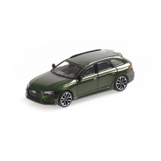 Audi RS4 Avant 2018 Green Metallic 1:87