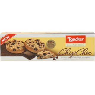 Loacker Gran Pasticceria Chip Choc Dark Biscotti 96g